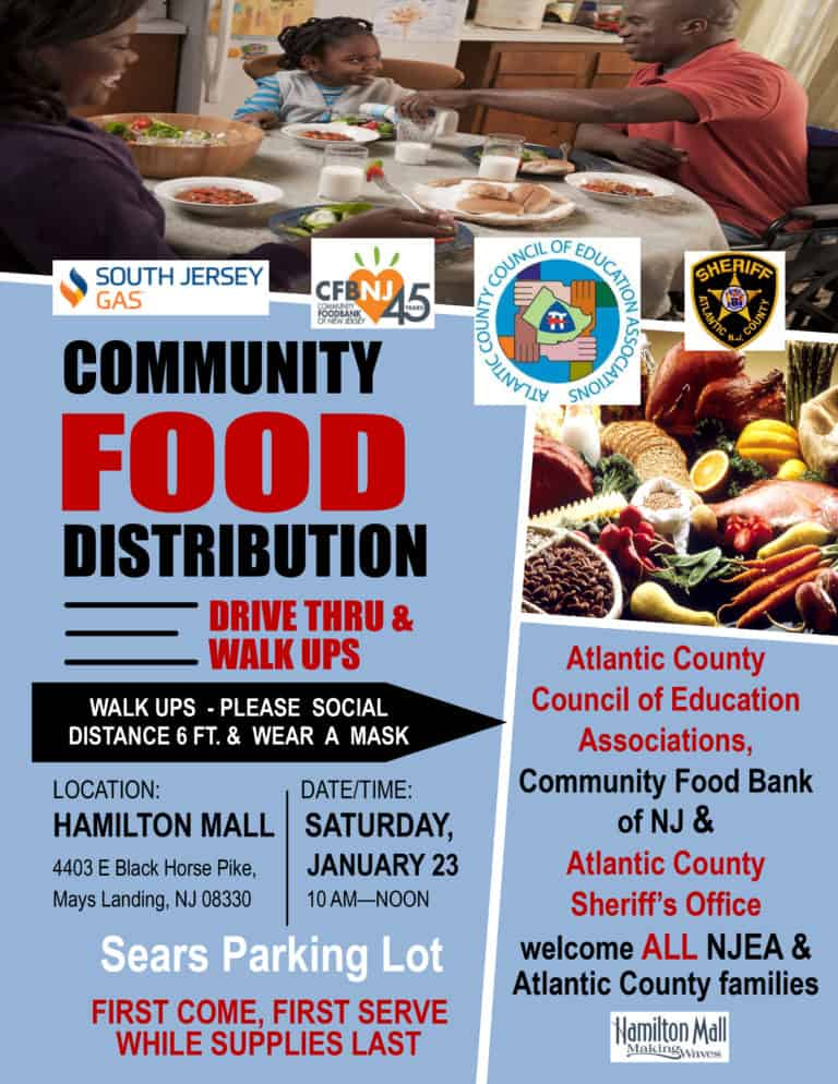 PRIDE Food Distribution event