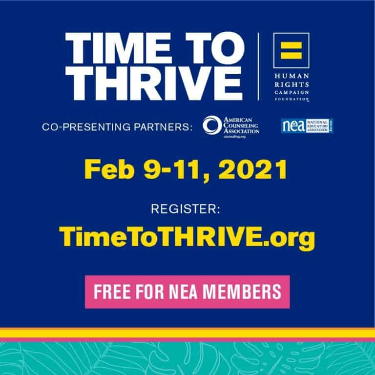 Read more about the article HRC's 8th Annual Time to THRIVE Conference
